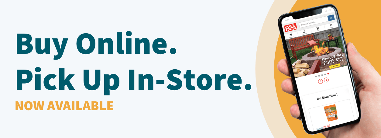 Shop our live inventory and pick-up same day at Foley Hardware, Same-Day Pickup Now Available