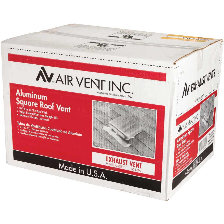 Airhawk 50 In. Mill Aluminum Square Roof Vent Image 4
