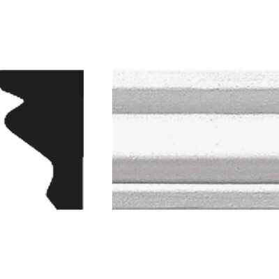 House of Fara 1/4 In. W. x 1-1/4 In. H. x 8 Ft. L. White MDF Shoe/Panel