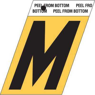 Hy-Ko Aluminum 1.5 In. Self-Adhesive Letter, M