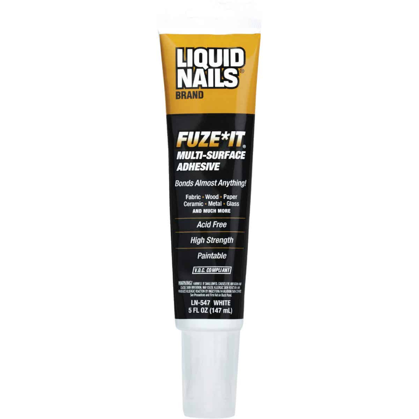 Liquid Nails Fuze-It 5 Oz. All Surface Construction Adhesive Image 1