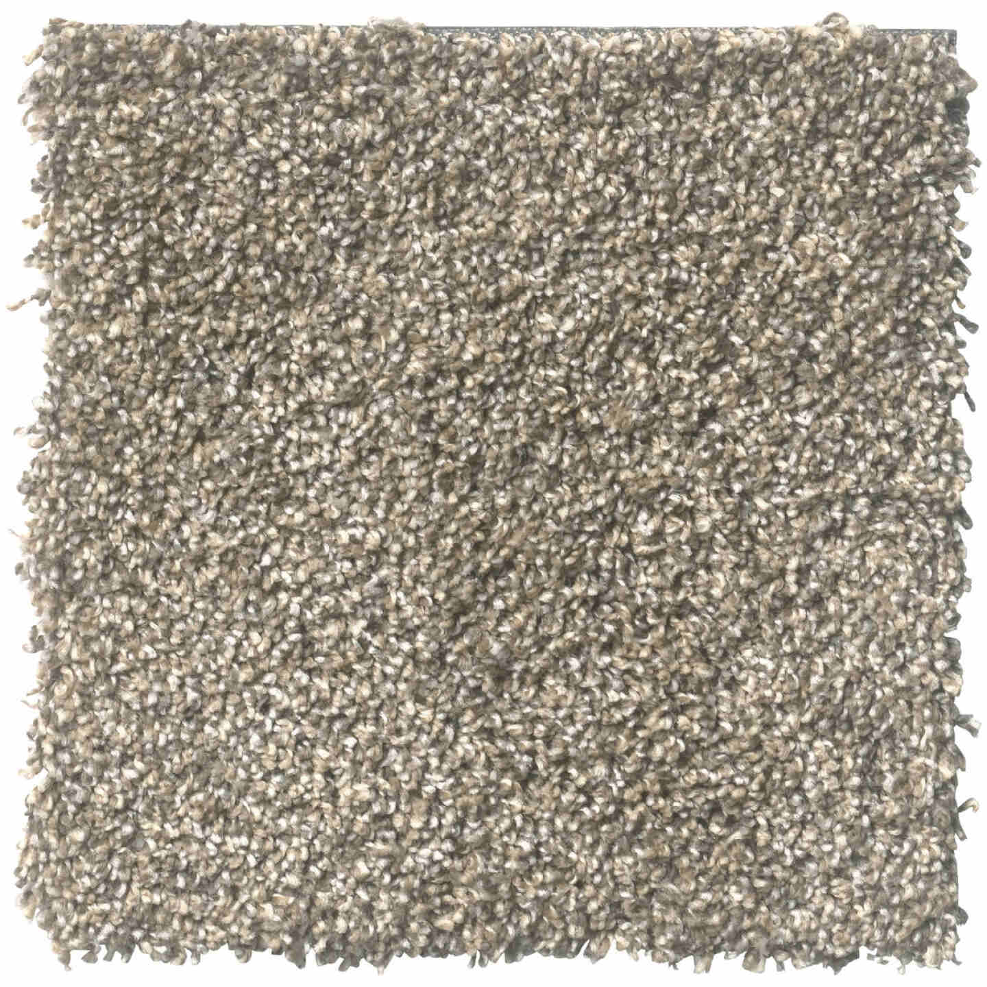 Floorigami 9 In. x 36 In. Feathered Tri-Tone Indoor Carpet Tile (12-Pack) Image 1
