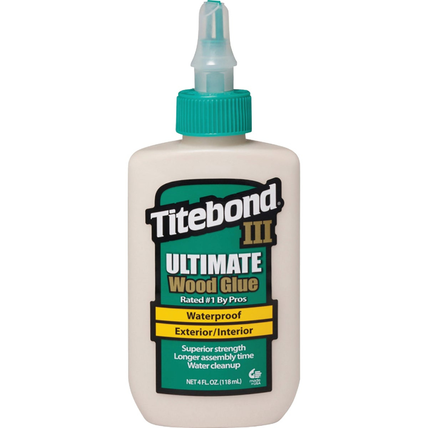 Titebond III 4 Oz. Ultimate Waterproof Wood Glue Image 1
