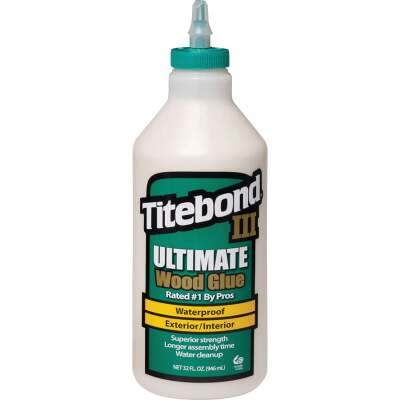 Titebond III 1 Qt. Ultimate Waterproof Wood Glue