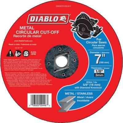 Diablo Type 1 7 In. x 1/8 In. x 5/8 In. Metal Cut-Off Wheel
