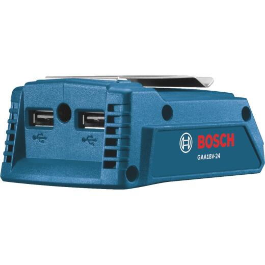 Bosch 18 Volt Lithium-Ion Dual Port USB Power Source (Bare Tool)