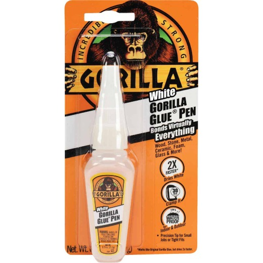 Gorilla 0.75 Oz. White All-Purpose Glue Pen