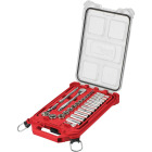 Milwaukee Standard 3/8 In. Drive 6-Point Ratchet & Socket Set w/PACKOUT Organizer (28-Piece) Image 1