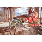 DeWalt Flexvolt 60V MAX Lithium-Ion 7-1/4 In. Cordless Worm Drive Saw Kit Image 2