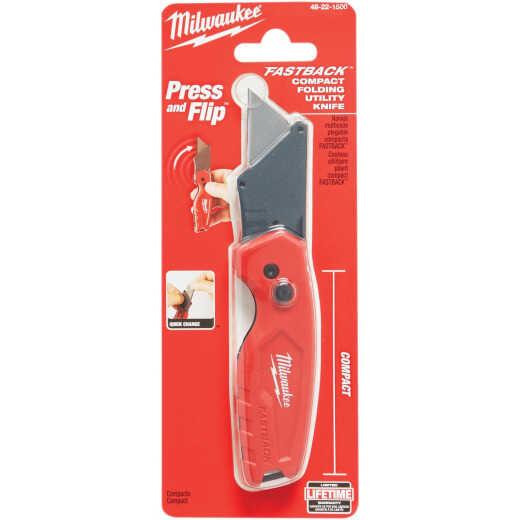 Milwaukee FASTBACK Fixed Folding Compact Utility Knife