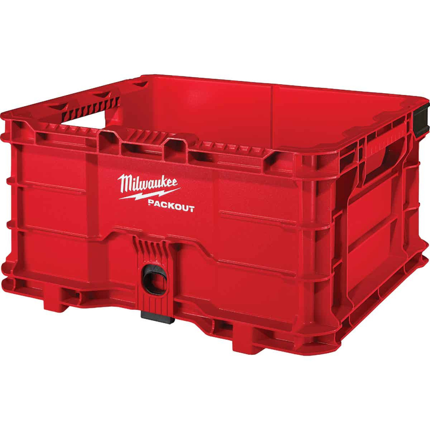 Milwaukee PACKOUT 50 Lb. Red Storage Tote Image 1