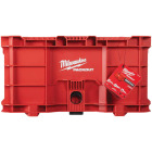 Milwaukee PACKOUT 50 Lb. Red Storage Tote Image 4