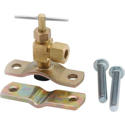 Anderson Metals 1/4 In. Low Lead Brass Saddle Valve
