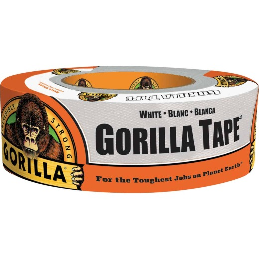 Gorilla 1.88 In. x 30 Yd. Heavy-Duty Duct Tape, White