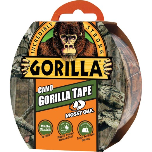Gorilla 1.88 In. x 9 Yd. Heavy-Duty Duct Tape, Matte Finish Camo