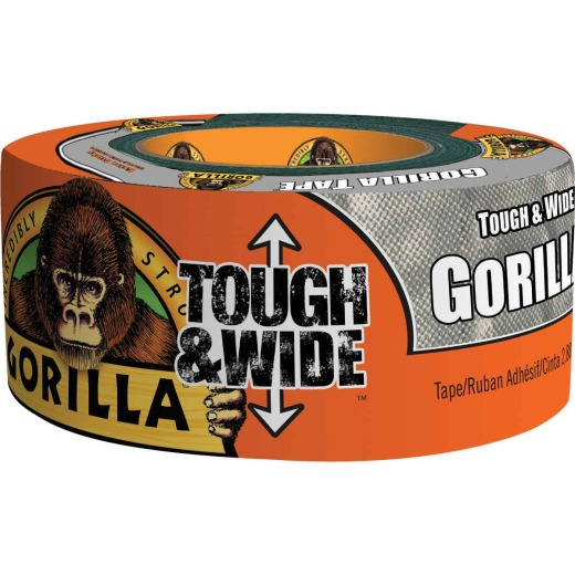 Gorilla 2.88 In. x 30 Yd. Tough & Wide Heavy-Duty Duct Tape, Silver