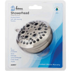 Home Impressions 5-Spray 1.8 GPM Fixed Showerhead, Brushed Nickel Image 2