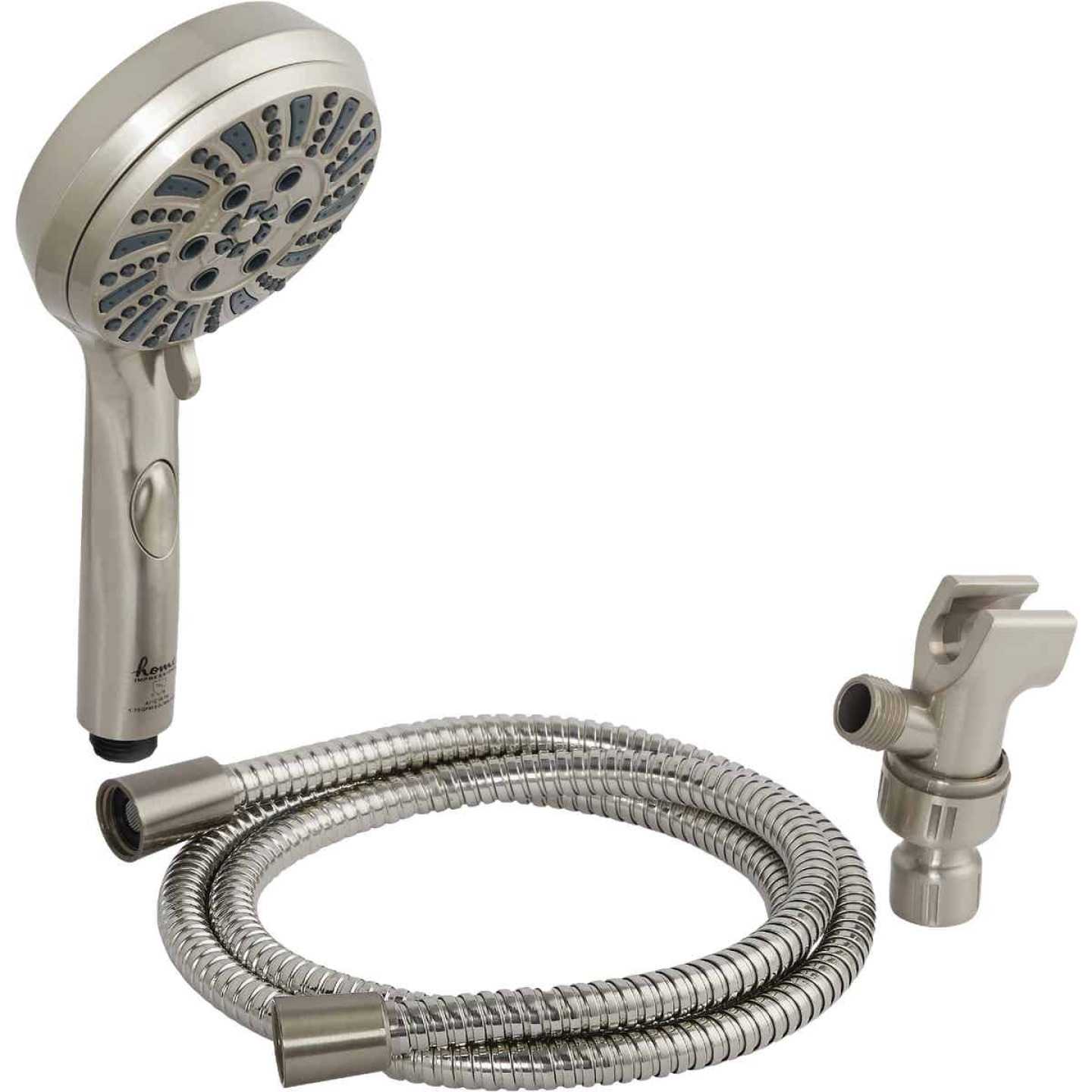 Home Impressions 6-Spray 1.8 GPM Handheld Shower, Brushed Nickel Image 3