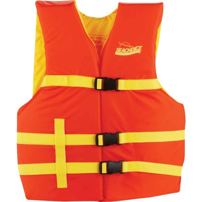 Seachoice Adult Type III & USCG 90 Lb. & Up Boating Life Vest