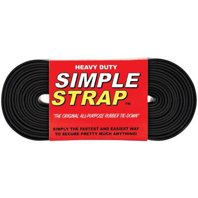 Simple Strap 40 mm x 20 Ft. Black Heavy-Duty Tiedown Strap