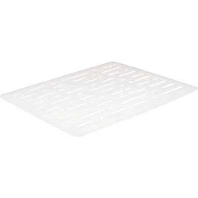 Rubbermaid 10.7 In. x 12.7 In. White Sink Mat
