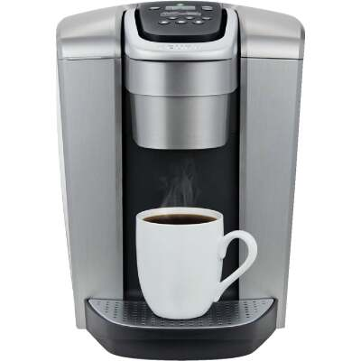 Keurig K-Elite Single Serve Programmable Brushed Silver Coffee Maker