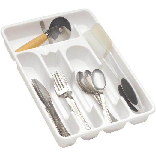 Rubbermaid 9 In. x 13.4 In. White Cutlery Tray