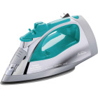 Sunbeam Steam Master Turbo Teal Iron with Retractable Cord Image 1