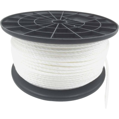 Do it 5/16 In. x 350 Ft. White Braided Nylon Rope