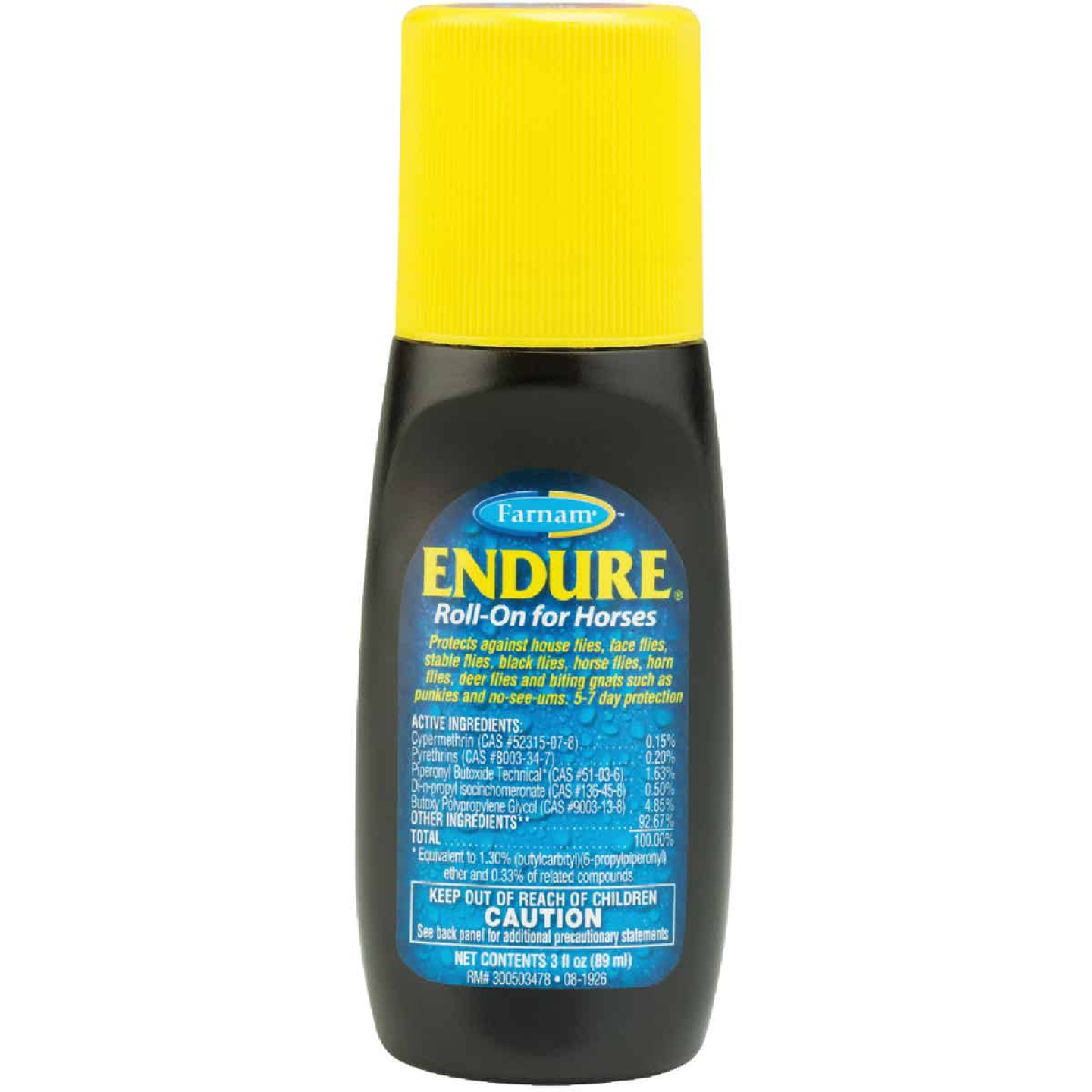 Endure Roll On Fly Repellant 3 Oz. Image 1