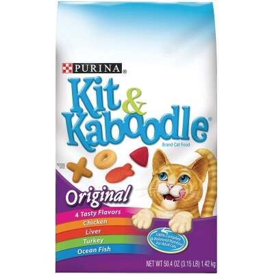 Purina Kit & Kaboodle 3.15 Lb. Chicken, Liver, Turkey, & Fish Flavor Adult Dry Cat Food