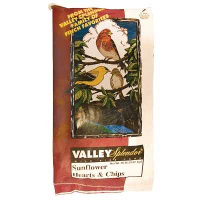 Audubon Park 20 Lb. Sunflower Hearts & Chips Wild Bird Seed