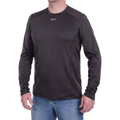 Milwaukee Workskin Large Gray Long Sleeve Men's Midweight Performance Shirt