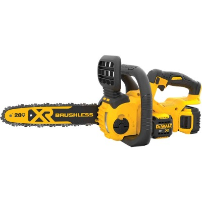 DeWalt 12 In. 20V MAX Lithium-Ion Brushless Cordless Chainsaw