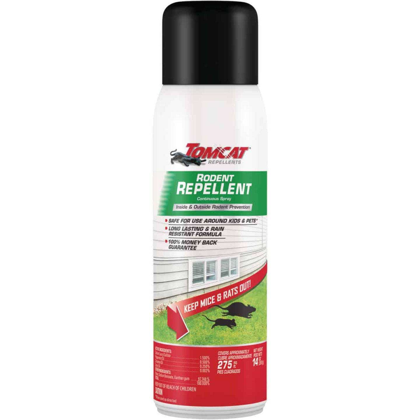 Tomcat 14 Oz. Aerosol Spray Mouse & Rat Repellent Image 1