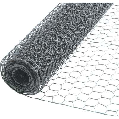 Do it 1 In. x 18 In. H. x 150 Ft. L. Hexagonal Wire Poultry Netting