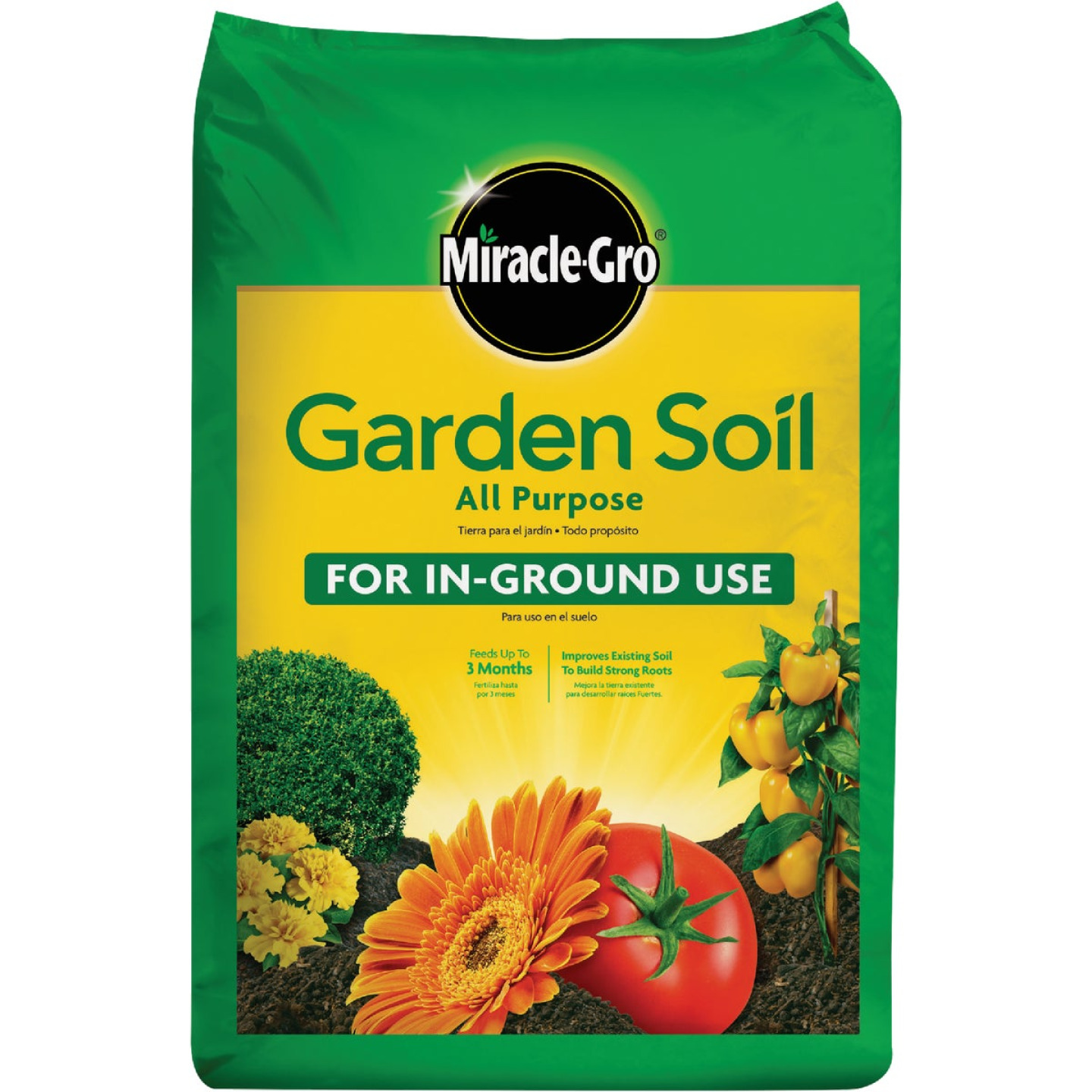 Miracle-Gro 1 Cu. Ft. 36 Lb. All Purpose Garden Soil Image 1