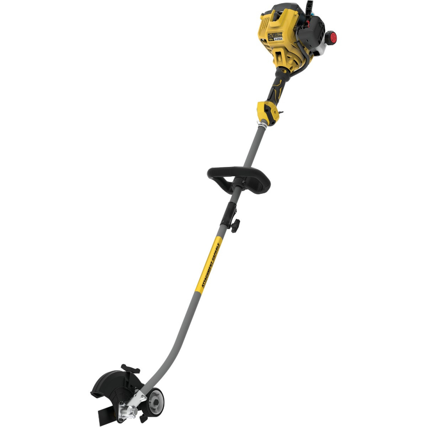 DeWalt Trimmer Plus 9 In. 27cc 2-Cycle Straight Shaft Gas Edger Image 1