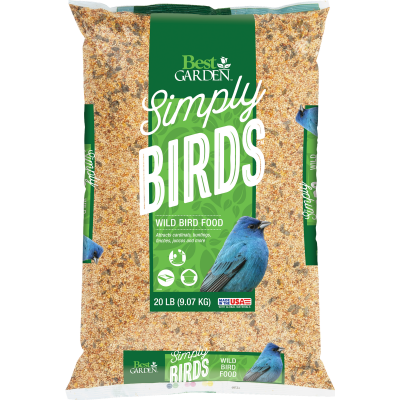 Best Garden Simply Birds 20 Lb. Wild Bird Seed