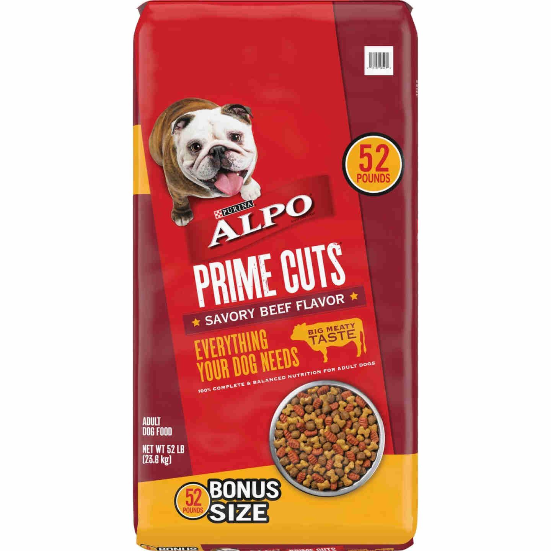 Purina Alpo Prime Cuts 52 Lb. Savory Beef Flavor Adult Dry Dog Food Image 1