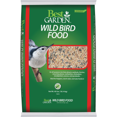 Best Garden Simply Birds 40 Lb. Wild Bird Seed