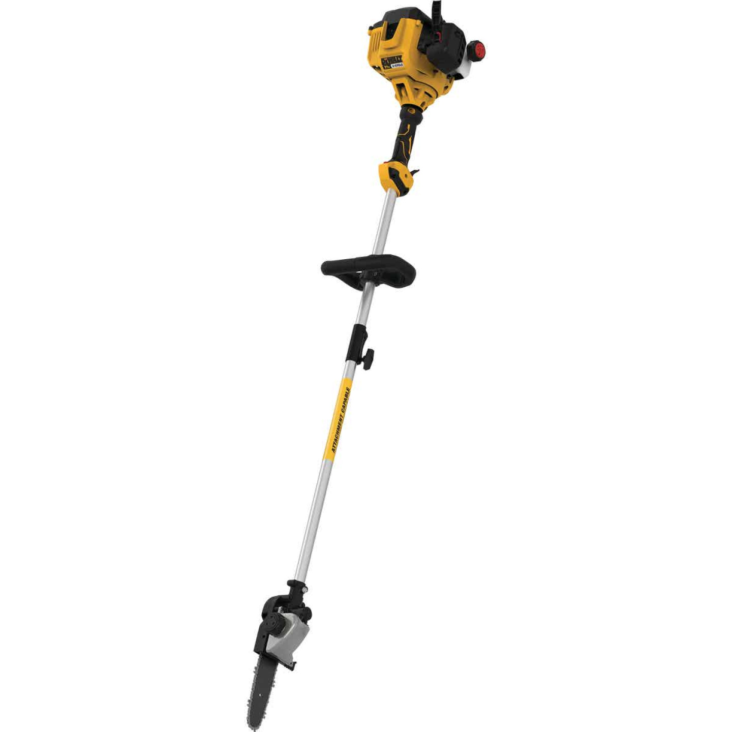 DeWalt Trimmer Plus 10 In. 27cc 2-Cycle Straight Shaft Pole Saw Image 1