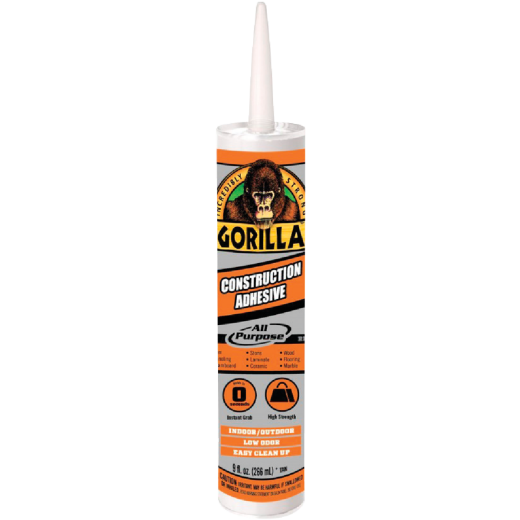 Gorilla 9 Oz. All Purpose Construction Adhesive