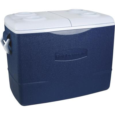 Rubbermaid 50 Qt. Cooler, Blue