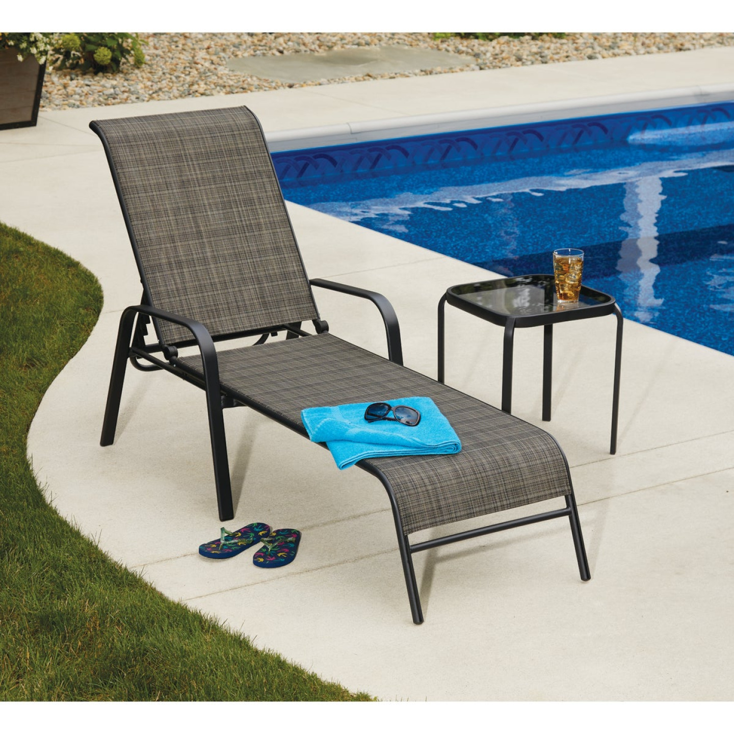 Outdoor Expressions Windsor Chaise Lounge Image 2