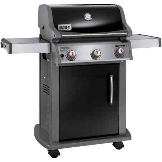 Weber Spirit E-310 3-Burner Black 32,000-BTU LP Gas Grill