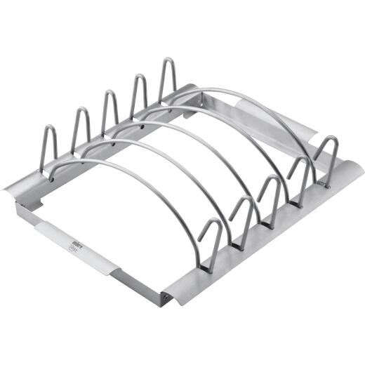 Weber Style Stainless Steel Rib Grill Rack