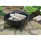 Outdoor Expressions 30 In. Antique Bronze Deep Bowl Steel Fire Pit Image 3