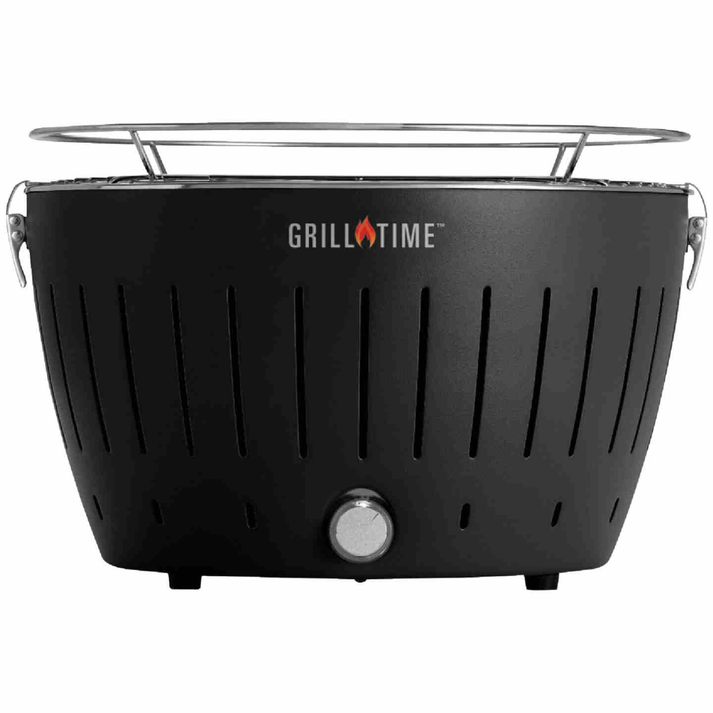 Grill Time Tailgater GT Gray 124 Sq. In. Charcoal Portable Grill Image 1