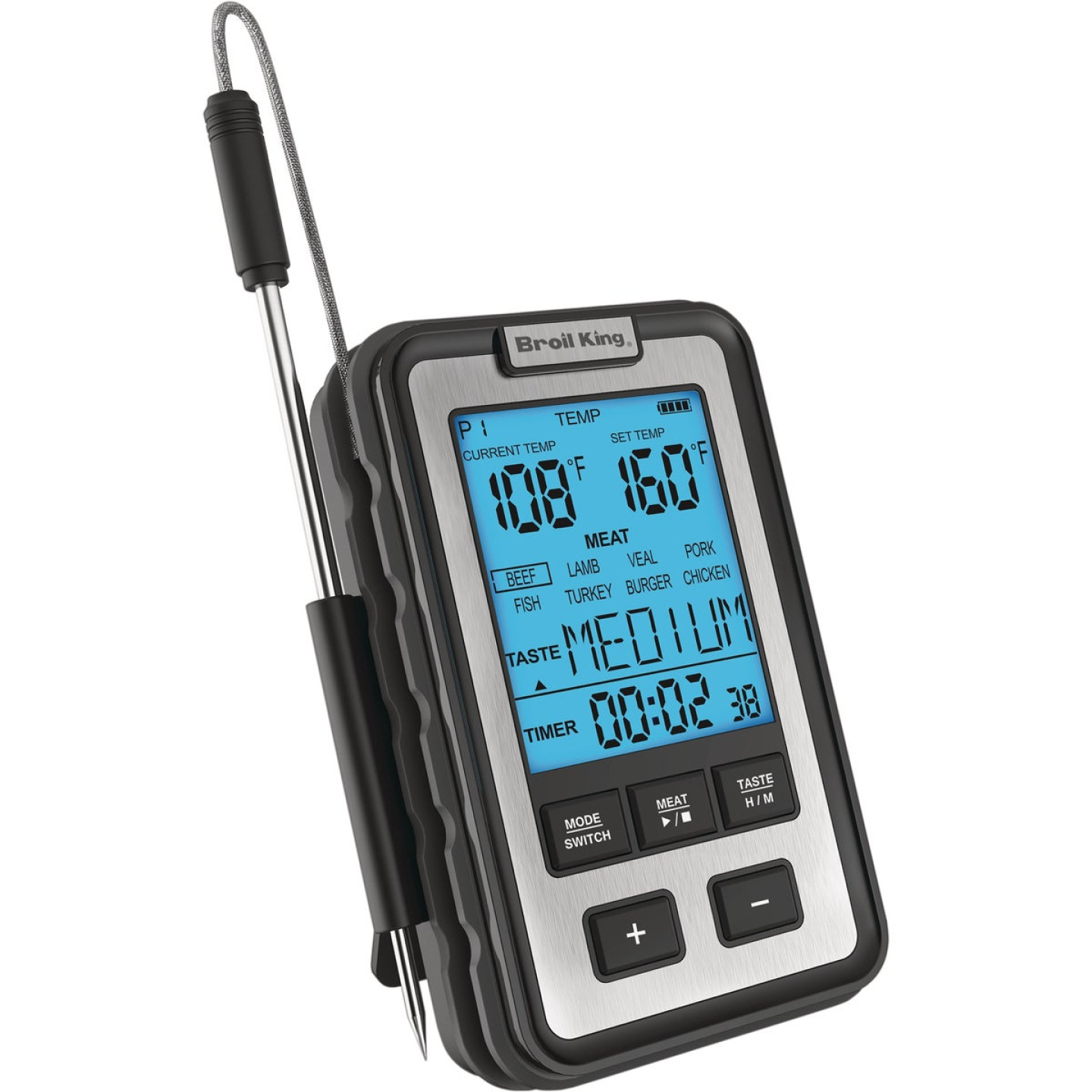 Broil King Digital Side Shelf Dual Probe Thermometer Image 5